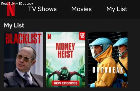 What is on your Netflix Movie watch list?