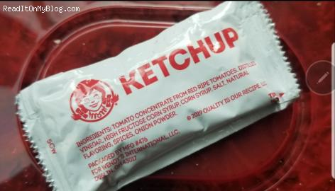 Guess how many calories one packet of fast-food ketchup contains