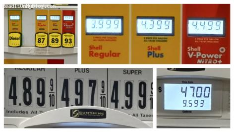 Look: Same gas station with two totally different prices at the pump