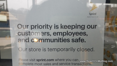 Most Sprint Stores Closed in New York because of COVID-19
