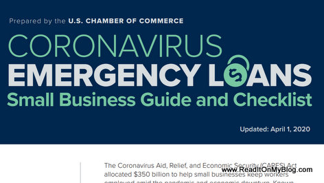 Download The Coronavirus emergency loans small business guide and checklist in PDF format